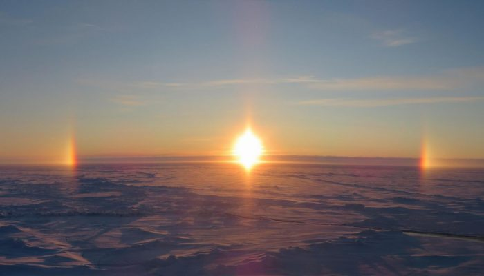 The puzzle of high Arctic aerosols