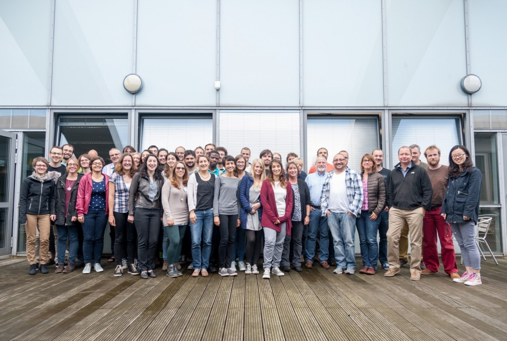 The participants of the ECORD Summer School 2015. Image credit: Volker Diekamp