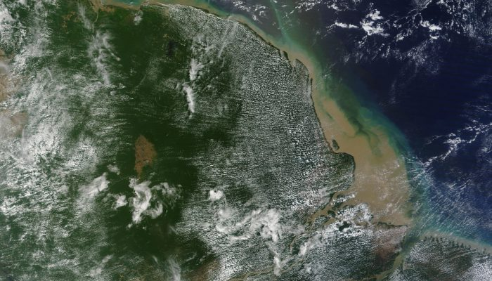 Coffee break biogeosciences – New coral reef at Amazon river mouth discovered