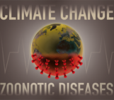 Are the risks of zoonotic diseases rising in the Anthropocene due to climate change?