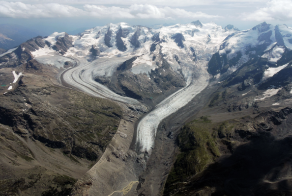 Glacier retreat and music
