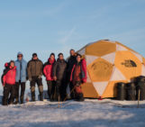 Deep Purple on Ice – Research on the Greenland Ice Sheet During the Pandemic