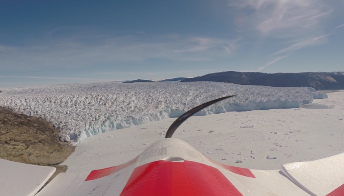 Image of the Week: Greenland Glacier Seen from a Drone