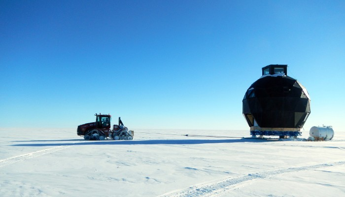 Science and Shovels: Traversing across the Greenland Ice Sheet.