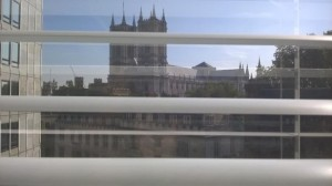 View from my window: Westminster Abbey. Credit: S. Buzzard.