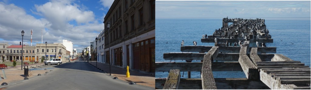 Punta Arenas is even quieter than usual on New Year's Day. (Credit: M. Millman)