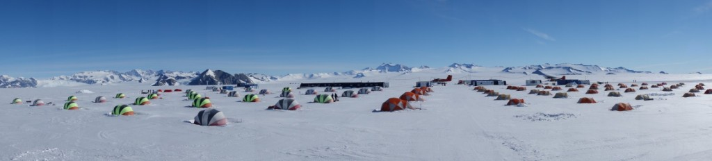 Union Glacier base. (Credit: H. Millman)