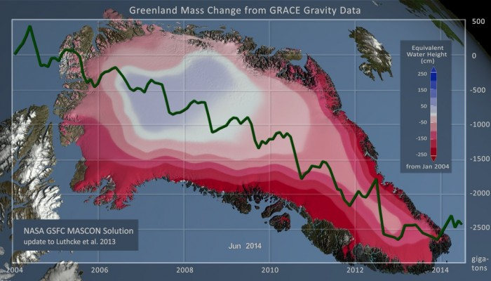 Image of the Week – Changes in the Greenland Ice Sheet Documented by Satellite