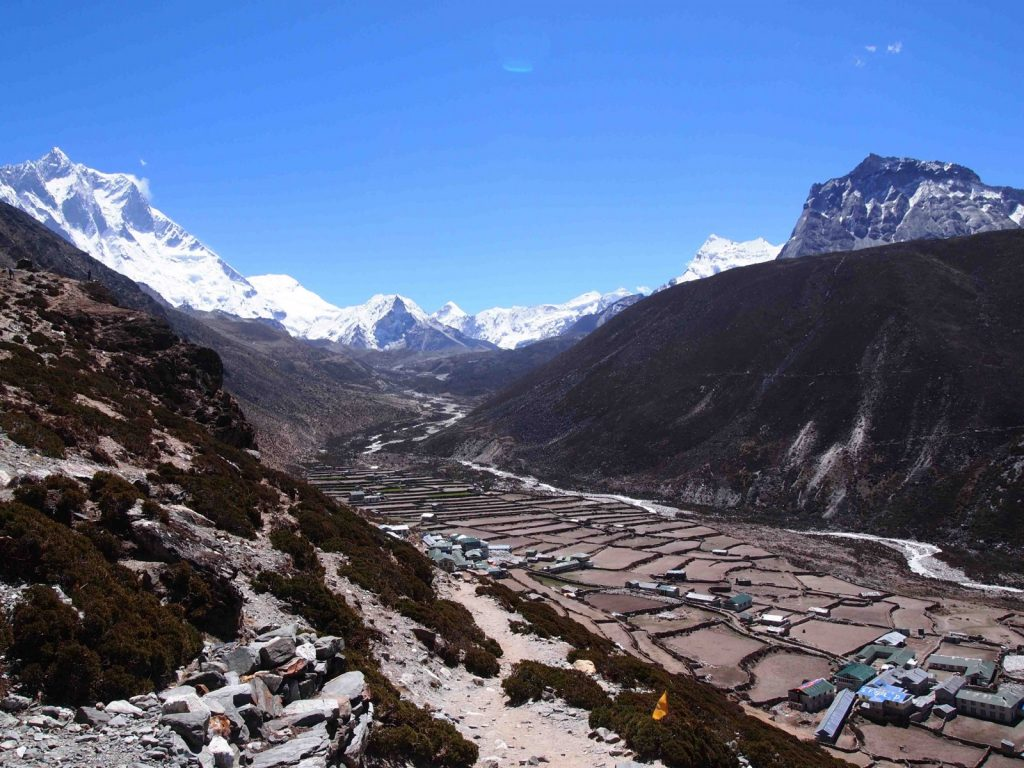 The community of Dingboche [Credit: D. Rounce]