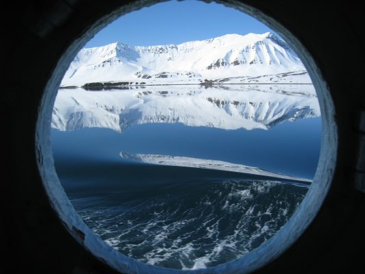 Image of the Week — Arctic porthole, Arctic portal
