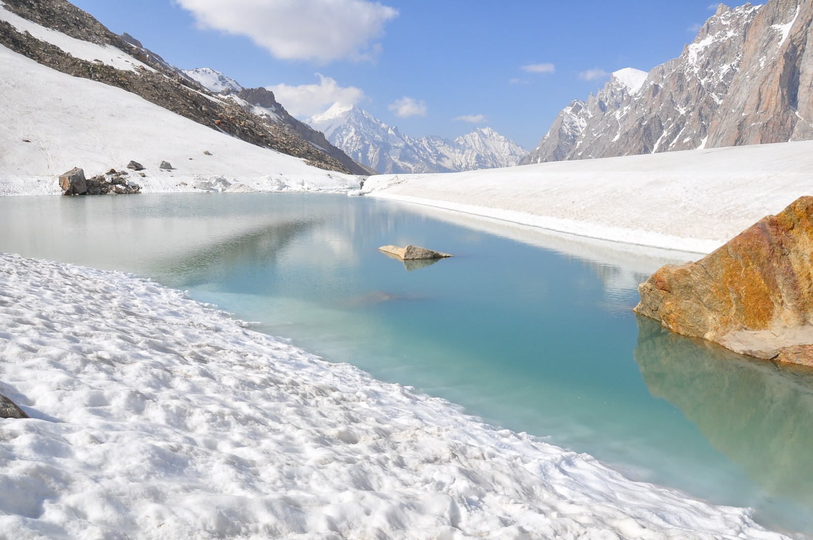 Image of the Week –  Hidden Beauty on a Himalayan Glacier