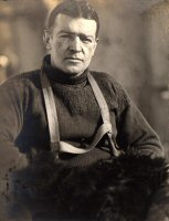 Ernest Shackleton. Image Credit: Scot Polar Research Institute.