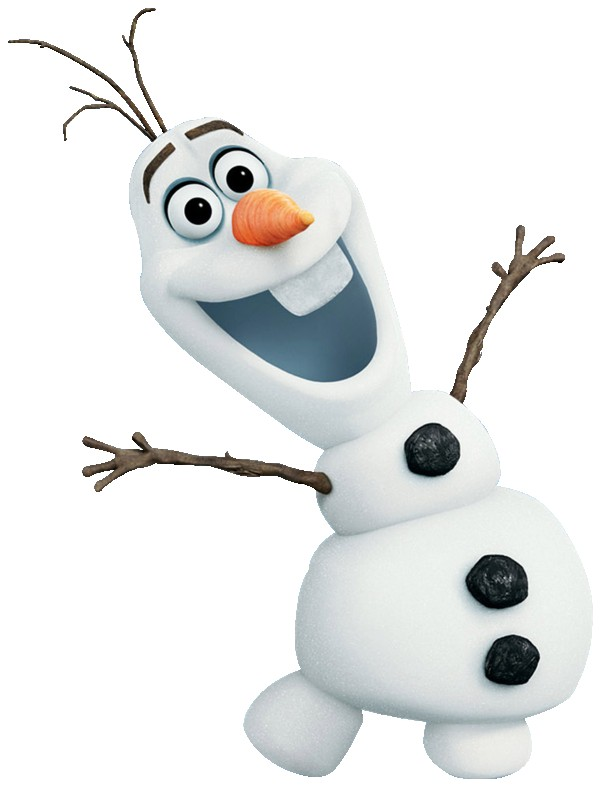 Olaf the enchanted snowman from Disney's 2013 animated feature film, Frozen. [Credit : Disney Wikia]