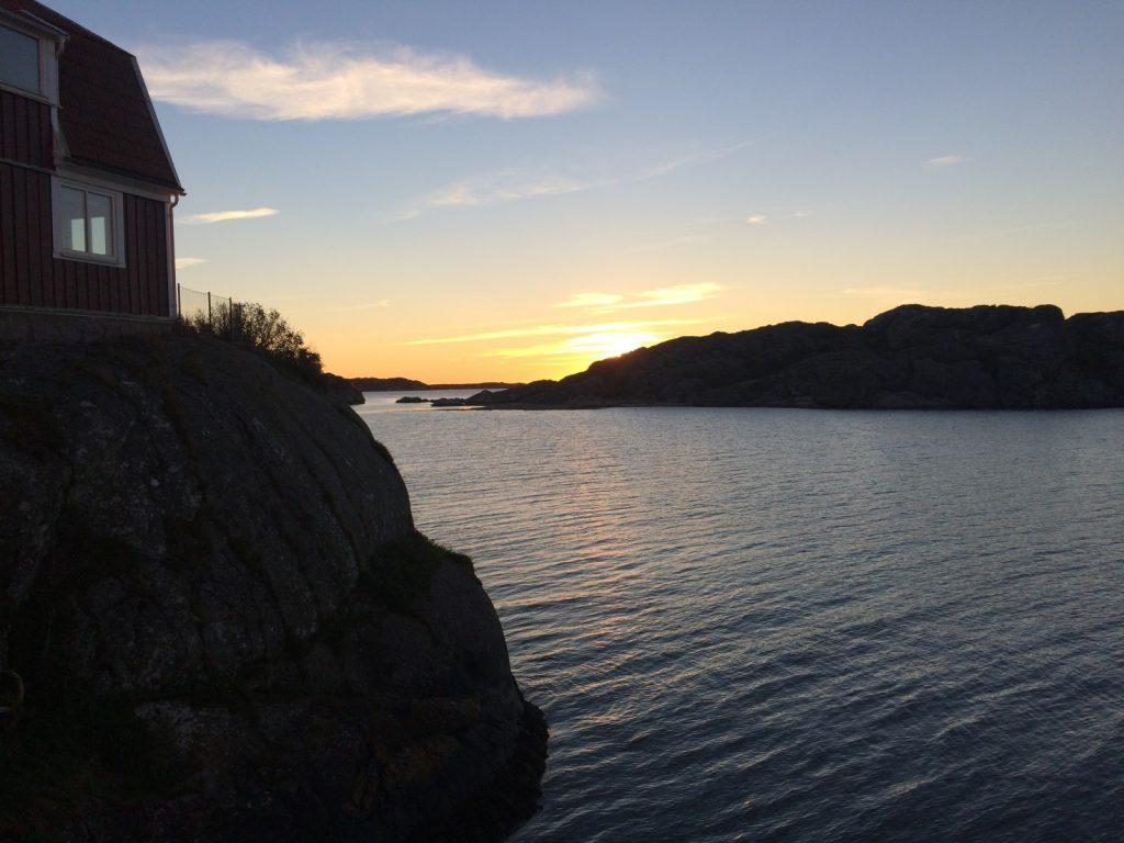 Fjord at the sunset [Credit: Céline Heuzé]