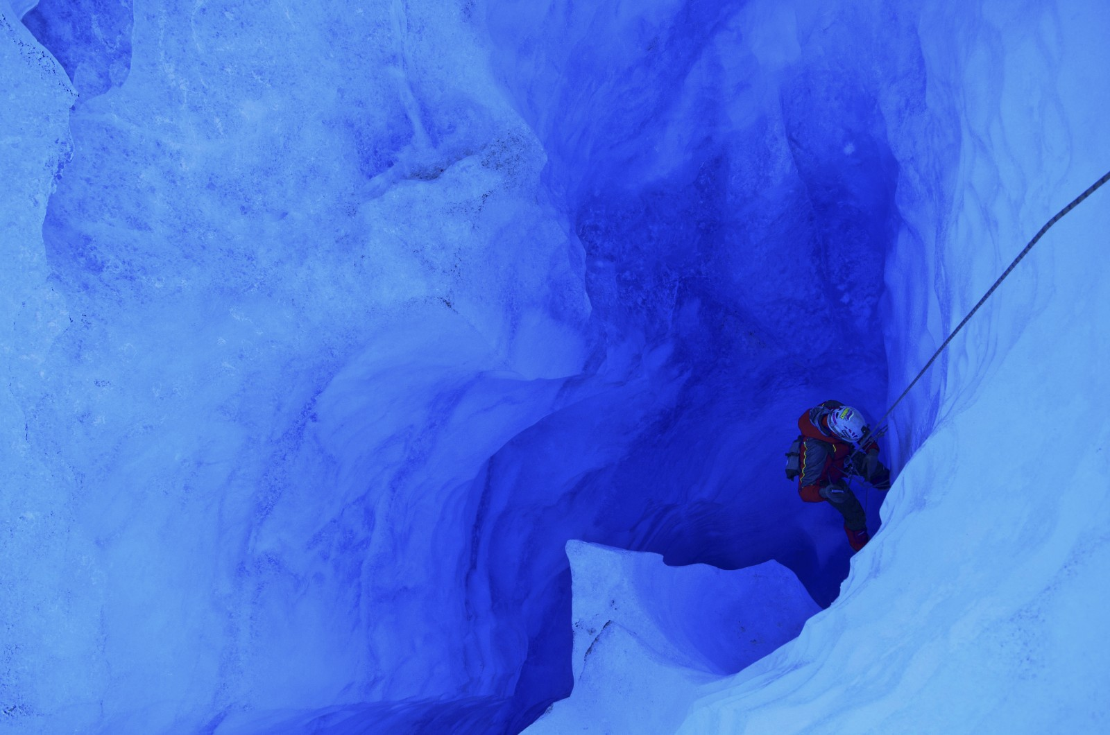 Image of the Week – Inside a Patagonian Glacier