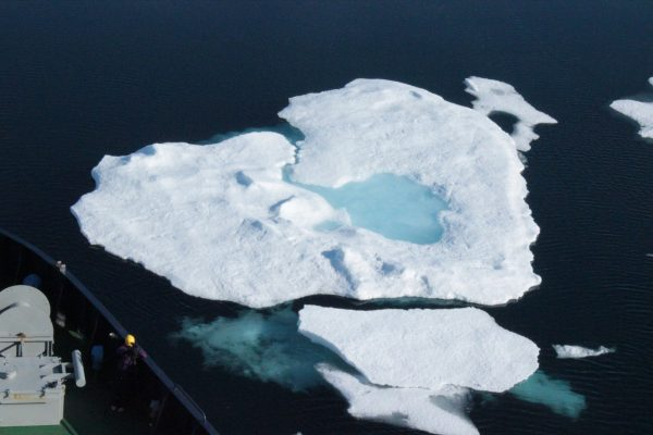 Image of the Week — The ice blue eye of the Arctic