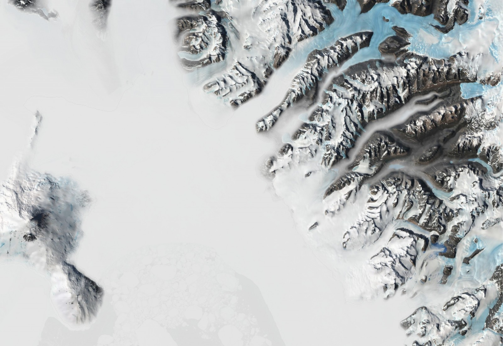 Cryospheric Sciences | Quantarctica: Mapping Antarctica has never
