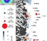 Image of the Week –  How geometry limits thinning in the interior of the Greenland Ice Sheet