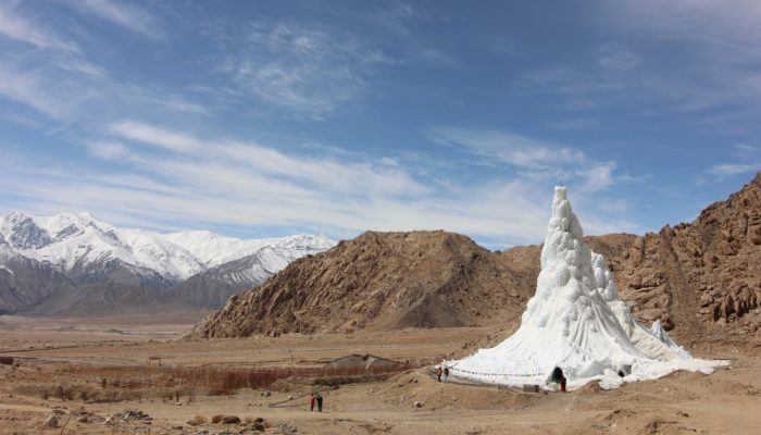 Image of the Week – Ice Stupas: a solution for Himalayan water shortage?