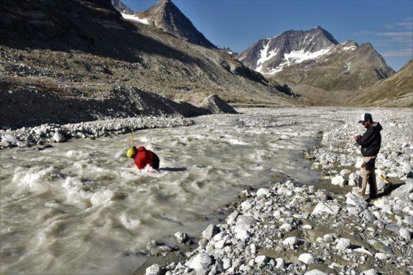 Running a live stream of proglacial processes