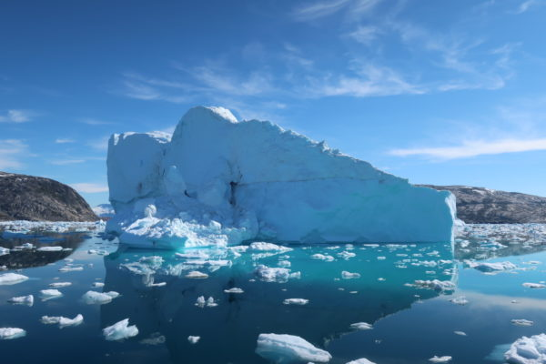 Image of the Week – Icebergs increase heat flux to glacier