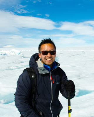 Introducing TJ Young, our new early-career representative for the cryo-division of the EGU!