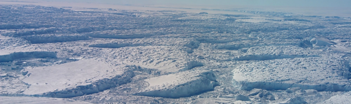 It's not you, it's me(lange): ice shelf break-up triggered by mélange and sea-ice loss