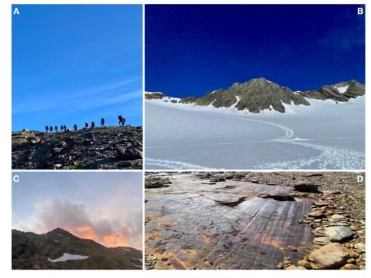 Vernagtferner: My First Encounter with an Alpine Glacier