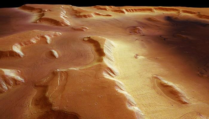 Glaciers on Mars