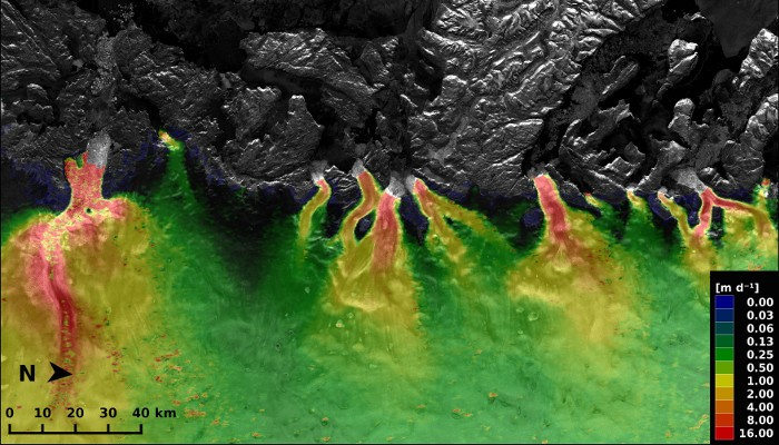 Image of the Week: Greenland Ice Streams