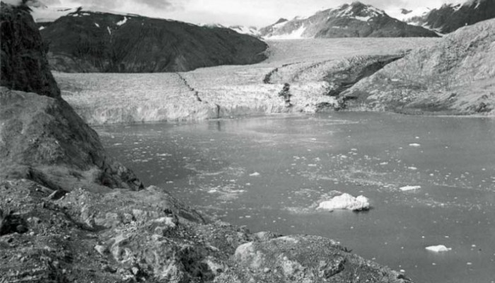 Image of the Week : 63 years of the Muir Glacier's retreat