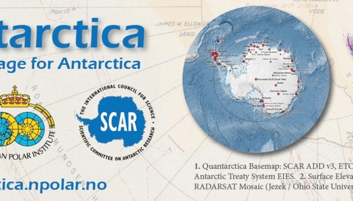 Quantarctica: Mapping Antarctica has never been so easy!