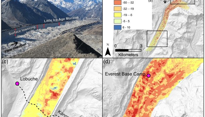 Image of the Week – Far-reaching implications of Everest's thinning glaciers