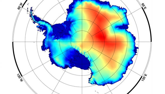 Image of the Week — High altitudes slow down Antarctica's warming