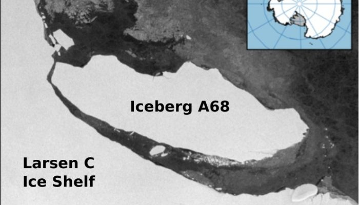Back to the Front – Larsen C Ice Shelf in the Aftermath of Iceberg A68!