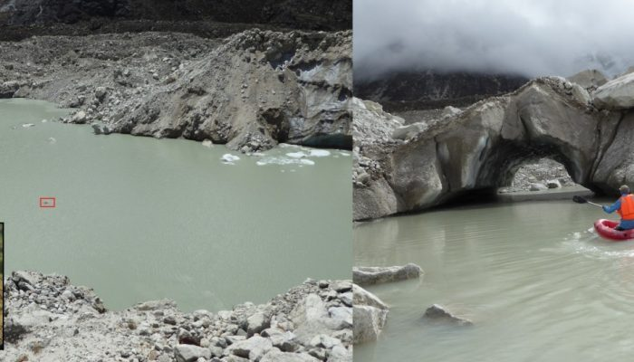 Image of the Week – Making waves: assessing supraglacial water storage for debris-covered glaciers