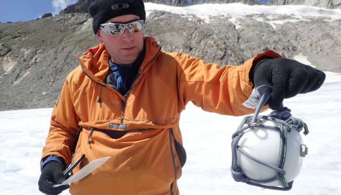 Exploring the hidden plumbing of glaciers with Cryoegg