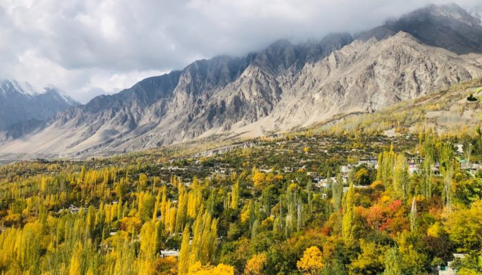 The physical and social changes facing the mountainous populations of the Karakoram Range