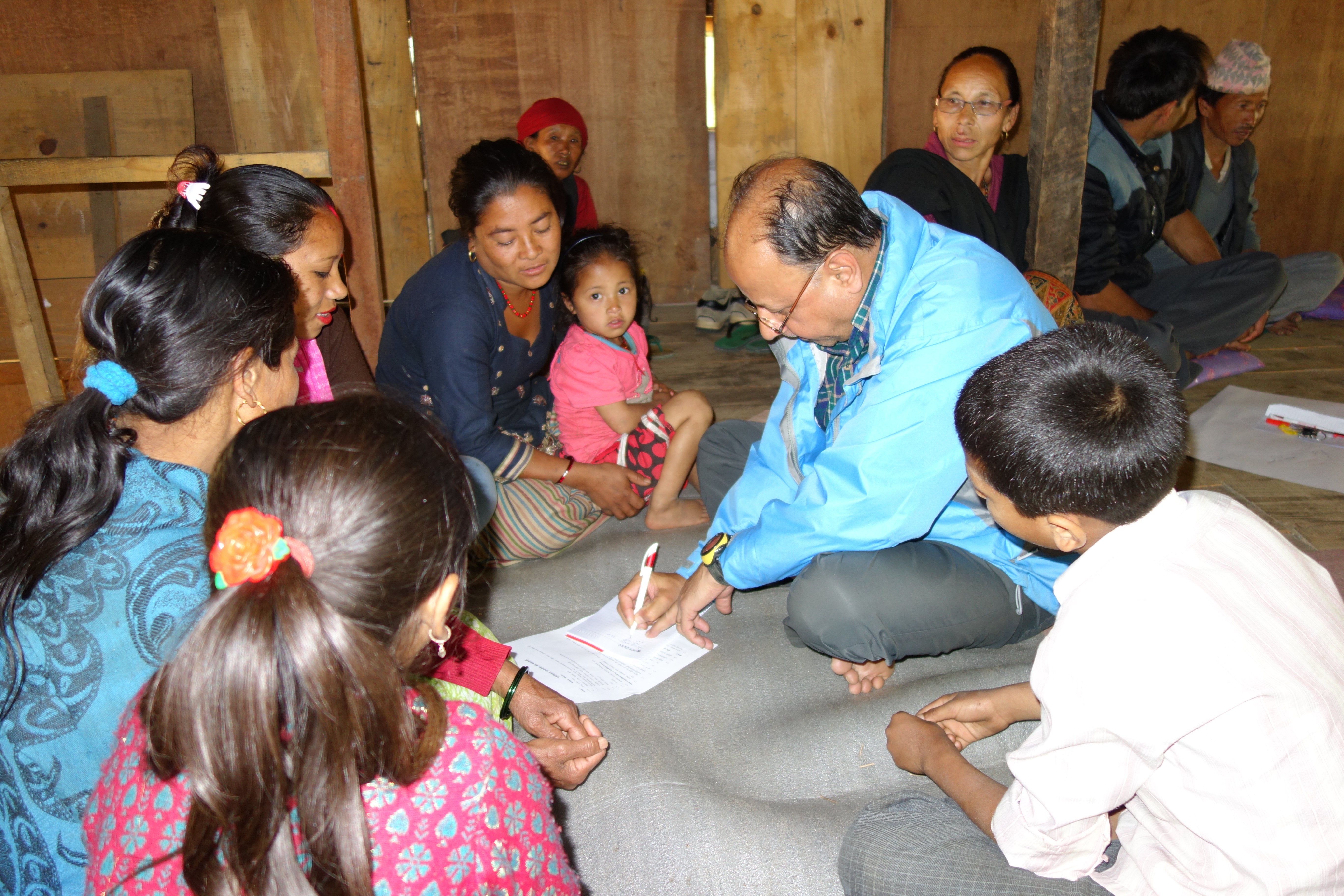 We conducted a set of semi-structured interviews in order to assess land management practices and the impact of new management policies since the Gaurishankar Conservation Area was set up in 2010 (by Dr. Viktor Bruckman)