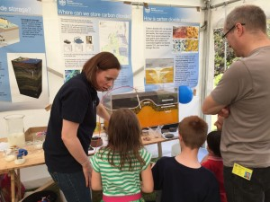 Communicating geoscience at the BGS open day