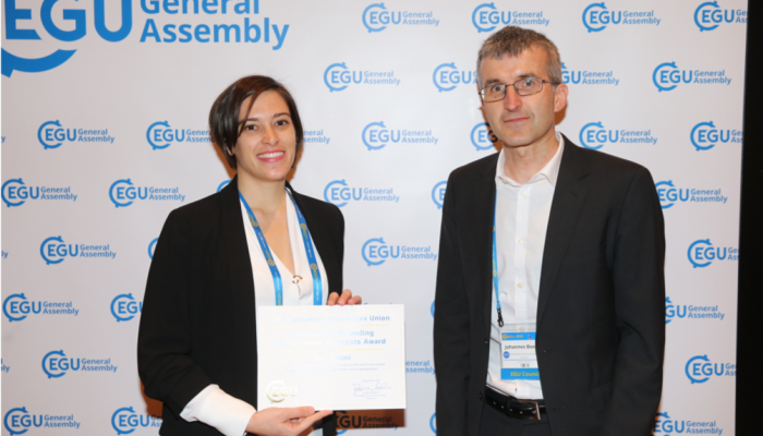Have a colleague who does outstanding work? – Nominate them for an EGU Award or Medal!