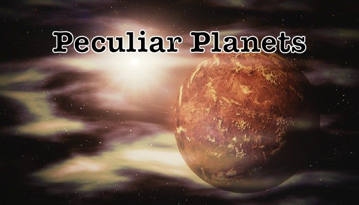 From hot to cold – 7 peculiar planets around the star TRAPPIST-1