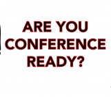 Get conference ready!