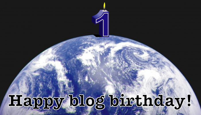 Happy blog birthday!