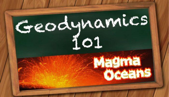 Magma oceans