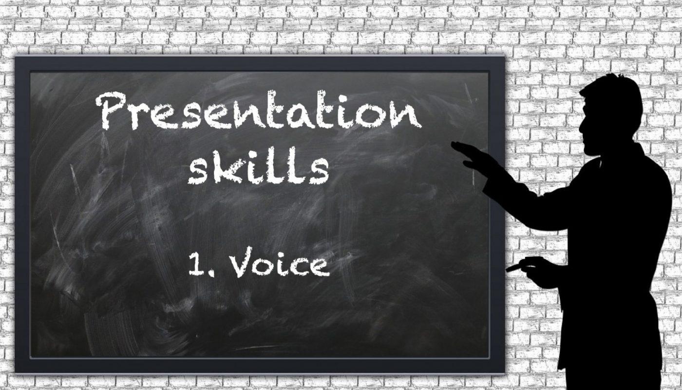 Geodynamics | Presentation skills – 1. Voice