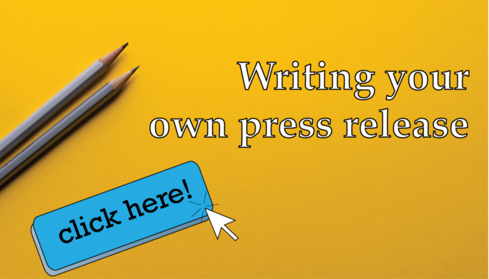 Writing your own press release