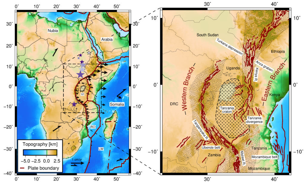 The East African Rift System.
