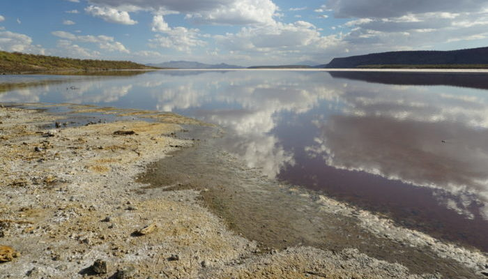 Lake Magadi, Kenya.