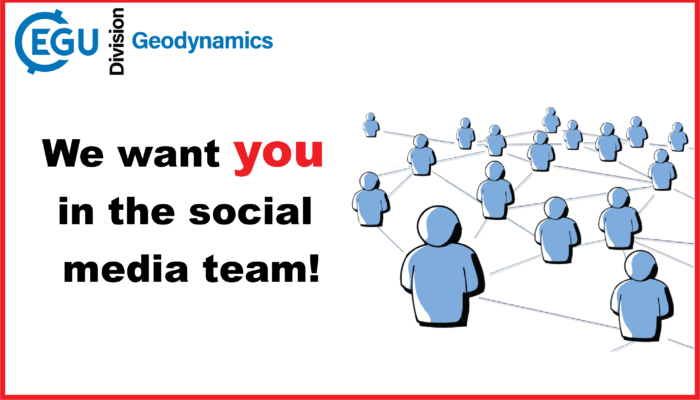 Join the EGU GD social media team!